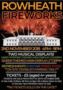 Fireworks Flyer