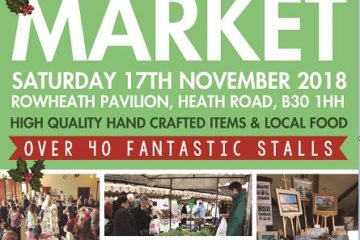 Rowheath Christmas Craft and Food market