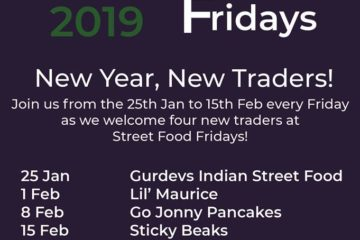 Street Food Fridays new year new traders!
